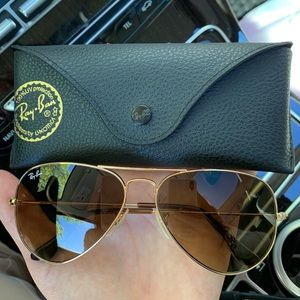 Authentic Ray Ban Aviators - 58